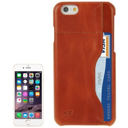 Brown Cow Leather Wallet iPhone 6