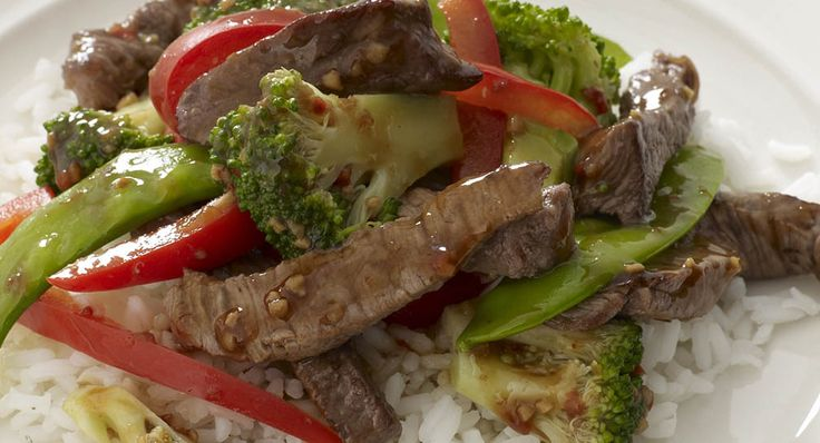 Roasted Garlic Beef and Vegetable Stir Fry - Everyday Cooking - McCormick.com - Simplify a beef stir-fry with Roasted Garlic & Bell Pepper Seasoning.