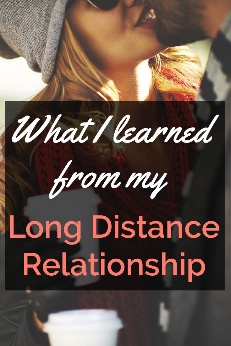 What I Learned From My Long Distance Relationship