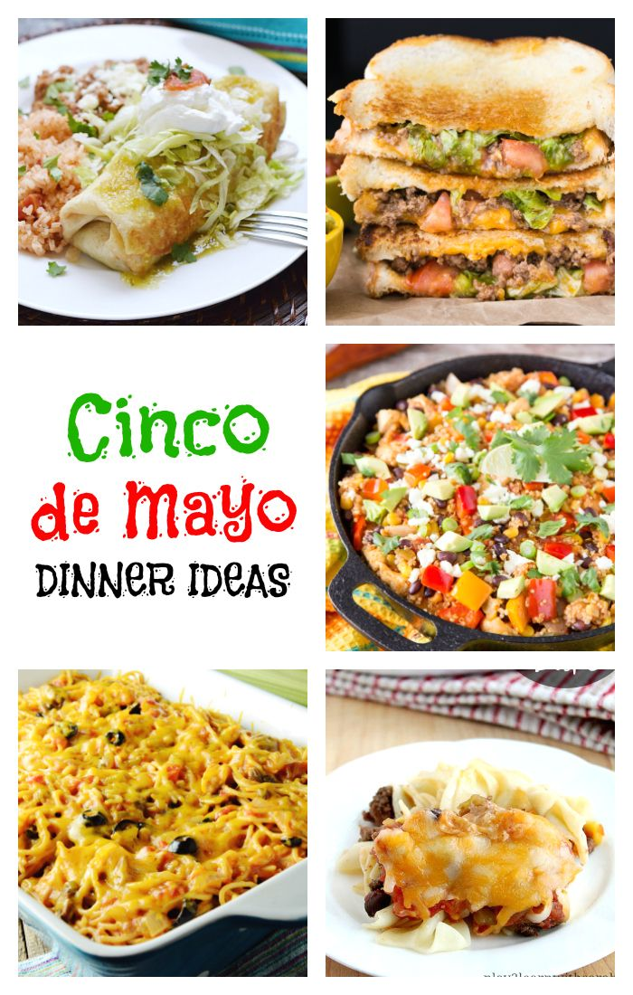Whether you're celebrating Cinco de Mayo or you just crave Mexican food on the regular, we've got some simple Mexican entrees that are easy to make and they're bursting with flavor!
