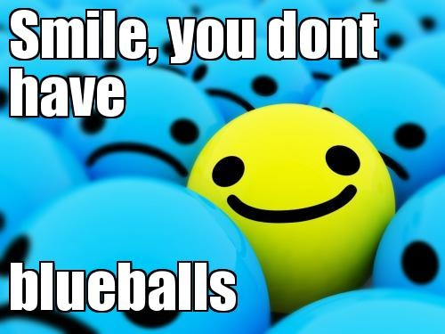 blueballs Meme | Slapcaption.com