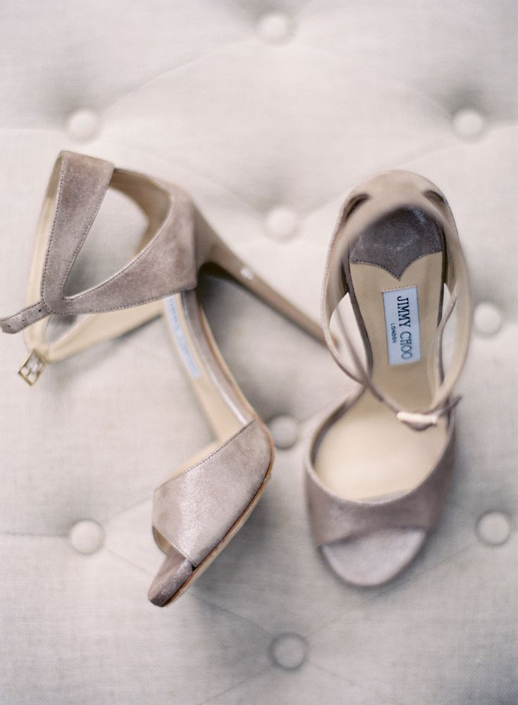 Jimmy Choo Wedding Shoes, Easton Events at Fenwick Hall in Charleston, Photography by @jose villa