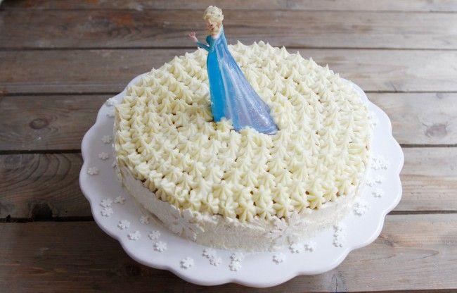 Frozen birthday cake. www.babybite.dk