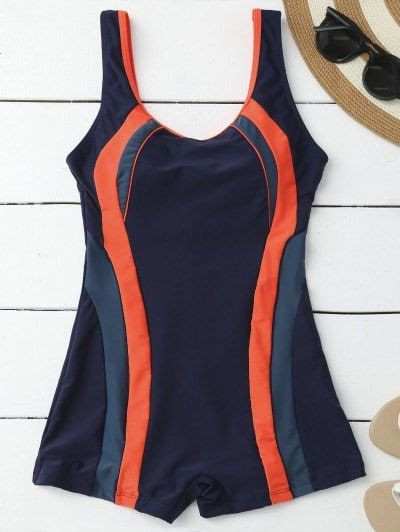 SHARE & Get it FREE | Slimming Padded Boyleg One Piece Swimsuit - Purplish Blue XlFor Fashion Lovers only:80,000+ Items • New Arrivals Daily Join Zaful: Get YOUR $50 NOW!