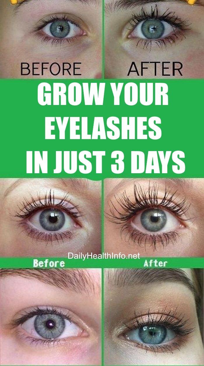 57d3fbd3e73 Grow Your Eyelashes In Just 3 Days! #eyelashes #longeyelashes #beauty #eye