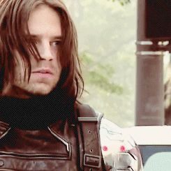 Winter Soldier gif<<<<<<<< is that… Bucky?!?!?! <--- Of course it's Bucky. >>> I love Bucky. <<forgot people don't automatically know that Bucky is Winter Soldier. I found out when I was watching an Avengers cartoon. Someone shoulda warned me that I'd get this attatched