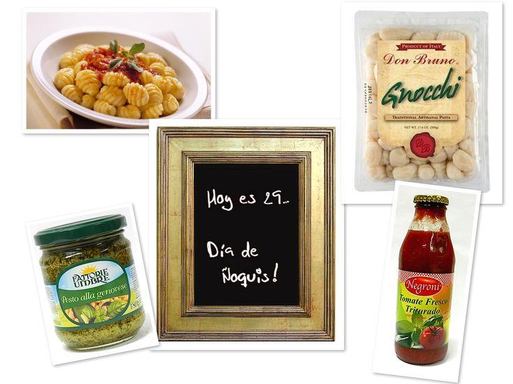 HOY ESEL DIA DEL ÑOQUI!... y en #Tostani tenemos todos los ingredientes para disfrutar de este clásico y exquisito plato italiano. Que tal si preparas unos #gnocchi al pesto, con el mejor pesto de Chile #fattorieumbre o si prefieres con tomate triturado #negroni. Da igual, como sea el ñoqui es lo máximo. Visita nuestra tienda online www.tostani.cl y sigue inspirándote con nuestros sabores. #ñoqui #diadelñoqui #distribuidoraarenillas #elmejordistribuidor