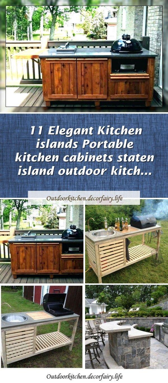 11 Elegant Kitchen Islands Portable Kitchen Cabinets Staten Island Outdoor Kitch In 2020 Outdoor Kitchen Design Layout Elegant Kitchen Island Portable Kitchen Cabinets