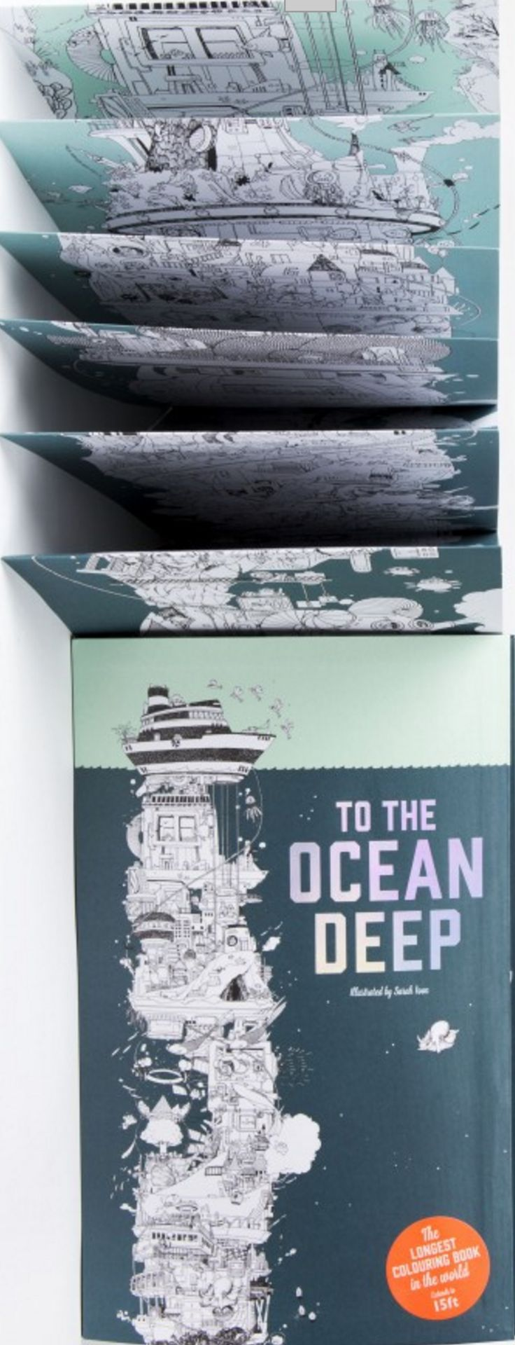 To the Ocean Deep Created by Sarah Yoon Laurence King Publishing 5/24/2016 9781780677705
