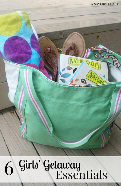 6 Girls' Getaway Weekend Essentials. A few must-haves to make a girlfriend trip even more fun!