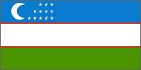 Uzbekistan's Flag!