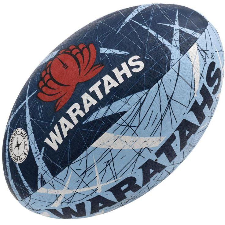 Waratahs Rugby Ball Gilbert Supporter