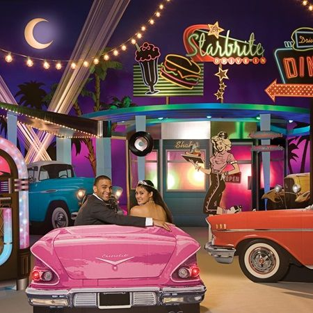 Blast From The Past Complete Theme-50's diner, sock hop Prom theme ideas for 2016