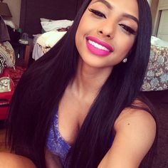 Stock Full Lace Wigs Indian Remy Hair Silky Straight -Hairplusbase.com