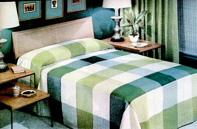 Bedroom (1953)  Cannon ad: