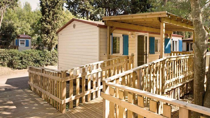 Mobilehome per disabili Toscana: case vacanza in campeggio accessibili a Bibbona | Camping Le Capanne