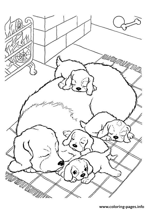 27++ Dog puppy coloring pages for kids inspirations
