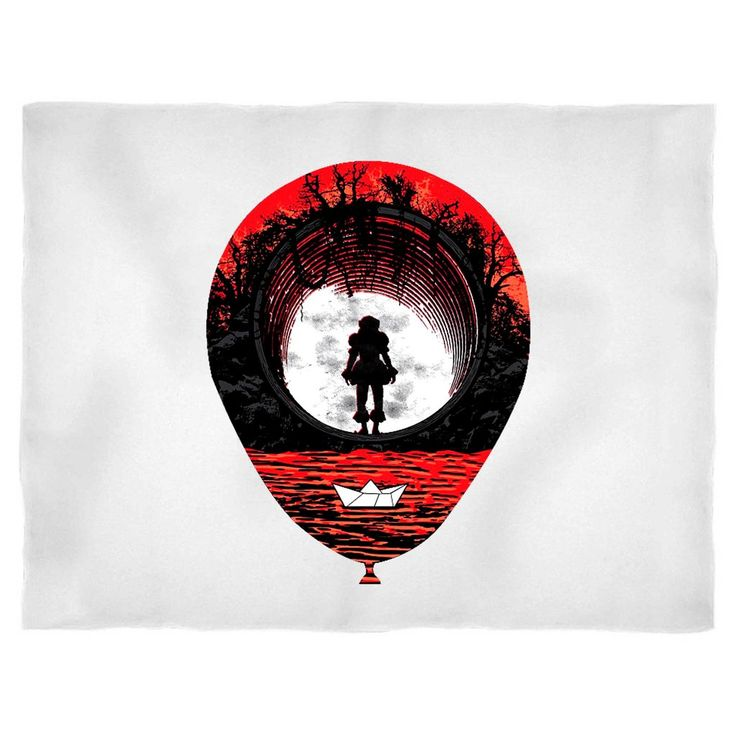 Fear the clown pennywise red balloon horror popular