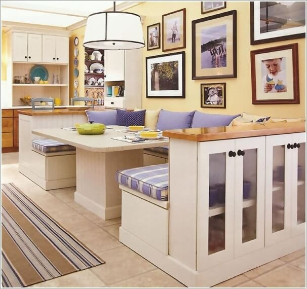 ... Cucina su Pinterest  Cucina panca con seduta, Panchine e Banquettes