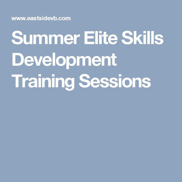 Summer Elite Skills Development Training Sessions