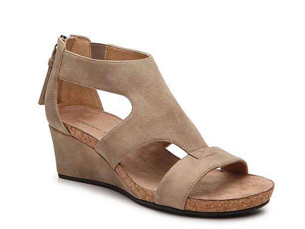 Women S Low Heel 1 2 Dress Pumps Sandals Dsw Comfortable Wedges Sandals Wedge Shoes Womens Shoes Wedges