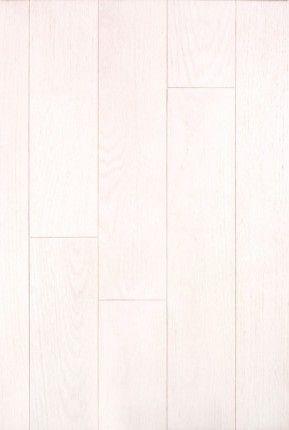 """Chaîne rouge Himalaya - Collection Unique: « La couleur Himalaya nous rappelle l'incomparable pureté des plus hauts sommets de ce monde. Les veines de l'essence en habillent subtilement sa blancheur immaculée. » Cindy Chrétien Leclerc, Coordonnatrice marketing _____Red oak Himalaya - Unique Collection: """"Himalaya is reminiscent of the pureness of the highest peaks in the world. Veins of the species subtly embrace the immaculate white of the colour."""" Cindy Chrétien Leclerc, Marketing…"""