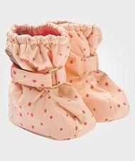 Mini Rodini Alaska AOP Baby Boot Pink