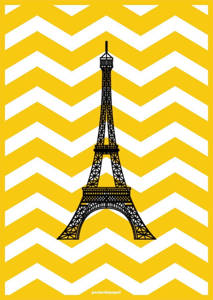 Poster Audrey Paris   Poster de Papel   Elo7