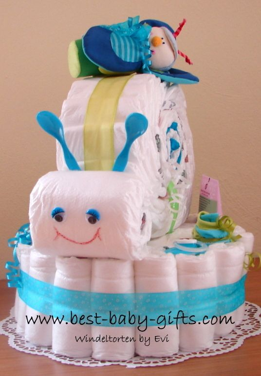 such a cute boy diaper snail cake, need to try for my next baby shower <3