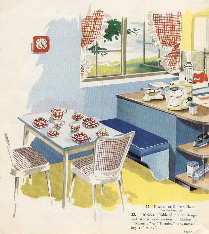 65 Best Images About Nifty Fifties Tea On Pinterest