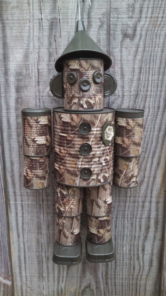 Best 25 tin can man ideas on pinterest for Tin can tin man craft