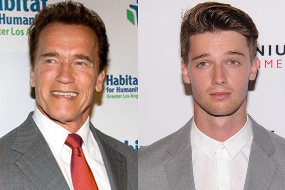 Arnold Schwarzenegger —> Patrick Schwarzenegger | 11 Celebrity Offspring Who Are Secretly Bangin' Hotties