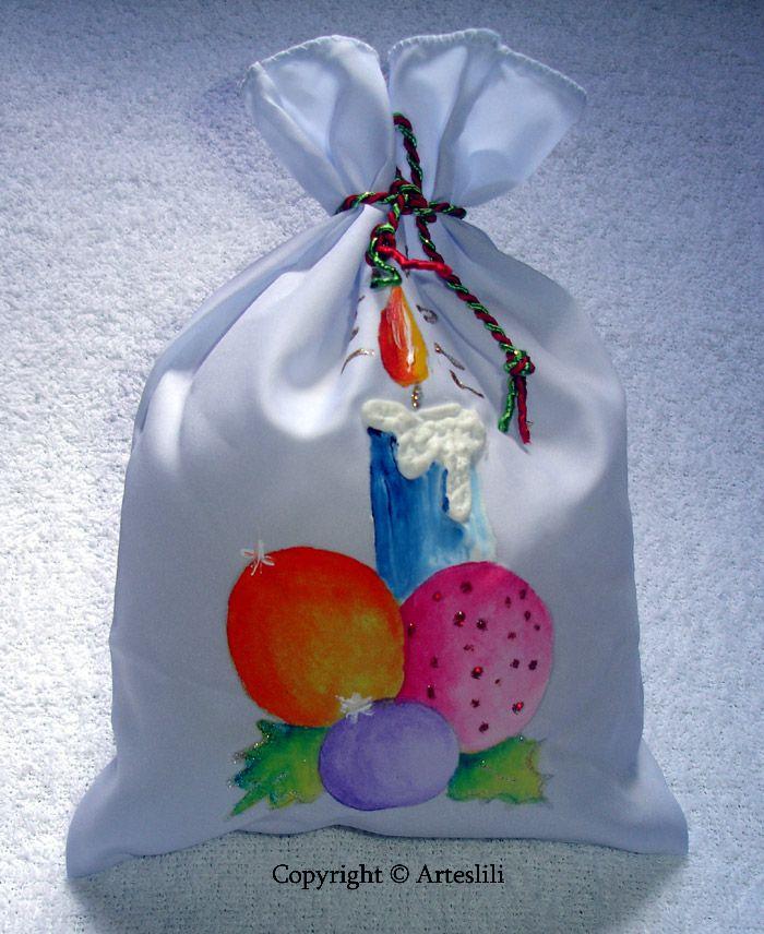 bolsita para rellenar con algun regalito como golosinas, chocolates o un perfume..