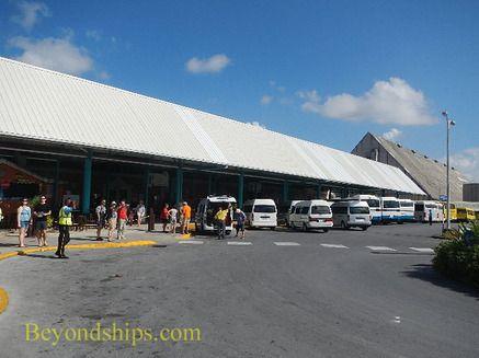 Barbados Walking to Bridgetown - Beyondships Cruise Destinations