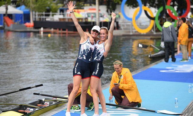 Helen Glover and Heather Stanning defend Olympic title and claim gold for Team GB