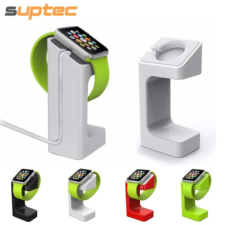 New for Apple Watch Stand Holder Desktop Display Keeper Dock Station Charging Cord Holder Fit for Apple Watch iWatch 38mm 42 mm