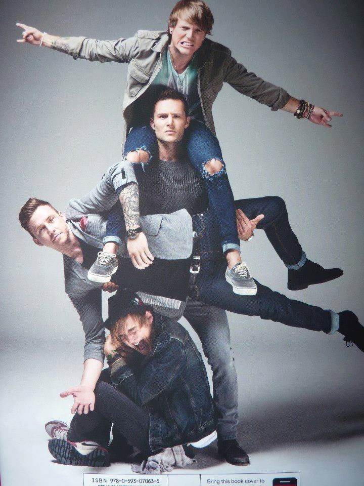 Harry holding Danny like it's no big deal