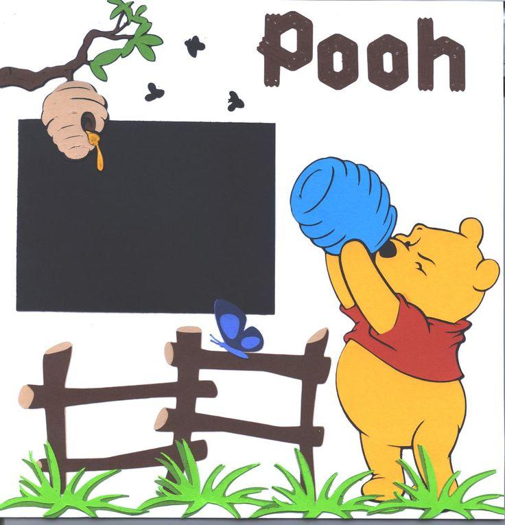 Winnie the Pooh Disney Scrapbook Layout
