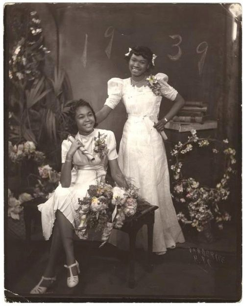 Graduation Day | 1939  By James Van Der Zee (1886-1983). Gelatin silver print, hand colored, 1939 via Museum of the International Center of Photography. Gift of The Sandor Family Collection, 2000