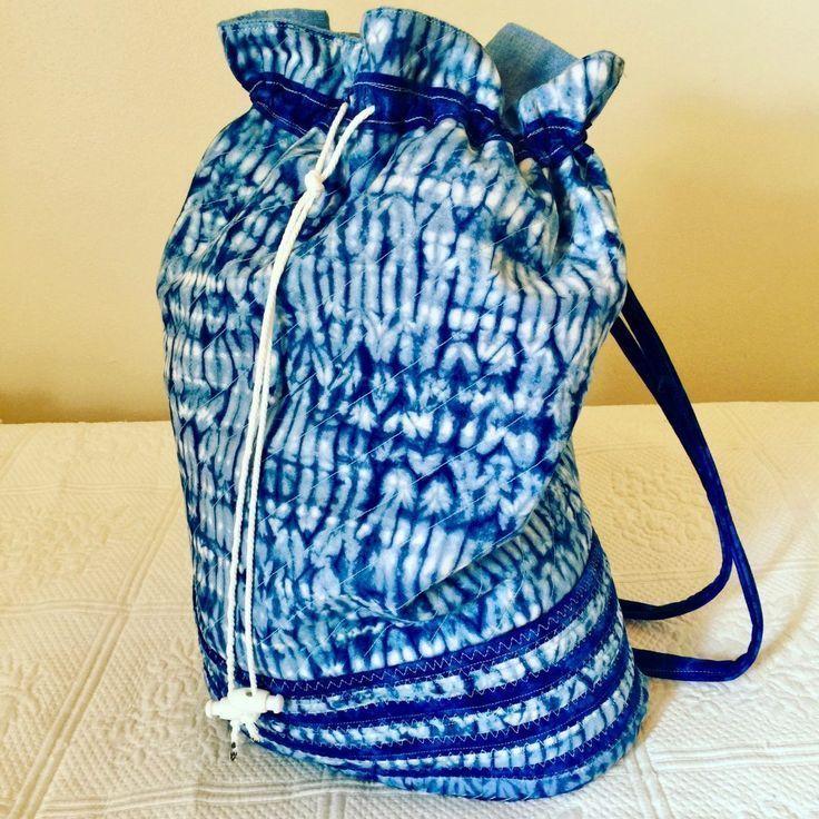 Make a Stunning Shibori Print Shoulder Bag|Designers Sweet Spot|www.designerssweetspot.com