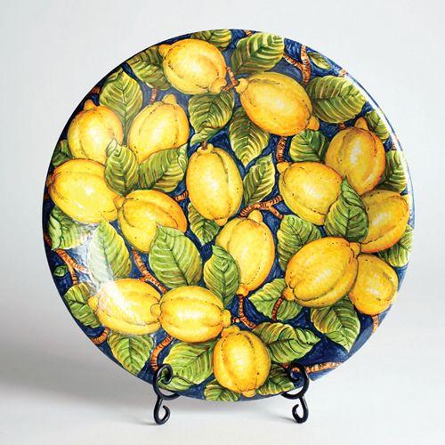 Giardini di sole - Tabletop | Casual Line | Limoni #handmade #ceramics #tuscany…