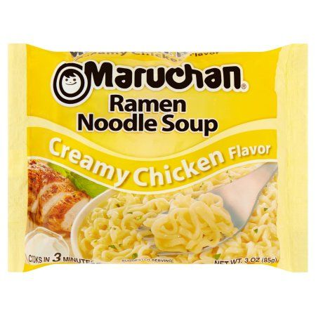 Free 2-day shipping on qualified orders over $35. Buy Maruchan® Creamy Chicken Flavor Ramen Noodle Soup 3 oz. Bag at Walmart.com
