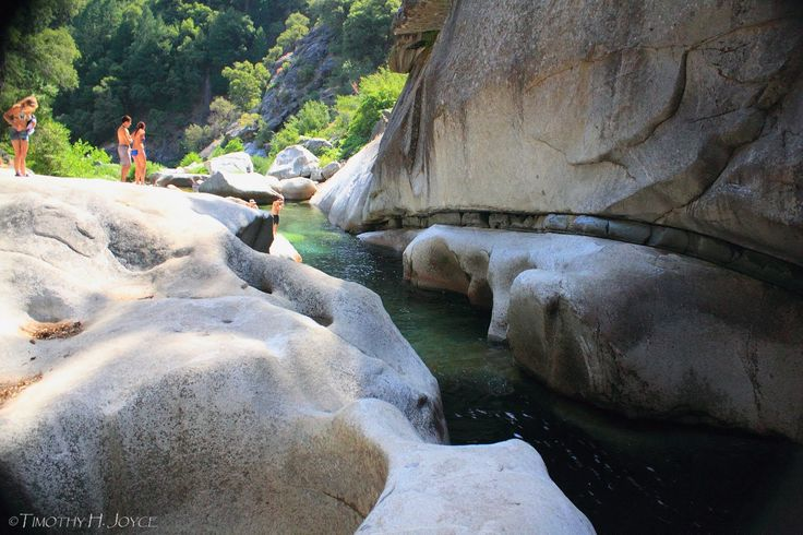 Swimming Holes of California: God's Bath, Sonora, CA