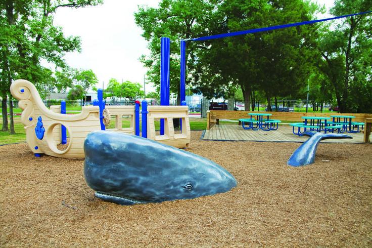 Cedar Brook Elementary Spring Branch Isd 2121 Ojeman Rd Houston Tx 77080 Spring Branch Spring Park Slide