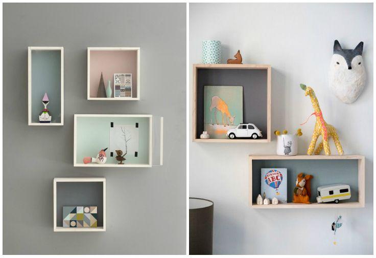 M s de 1000 ideas sobre estantes decorativos en pinterest - Ideas dormitorios infantiles ...