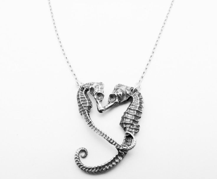 76 best dolphin and seahorse jewelry images on pinterest sterling silver seahorse heart necklace from georgia varidakis jewelry mozeypictures Images