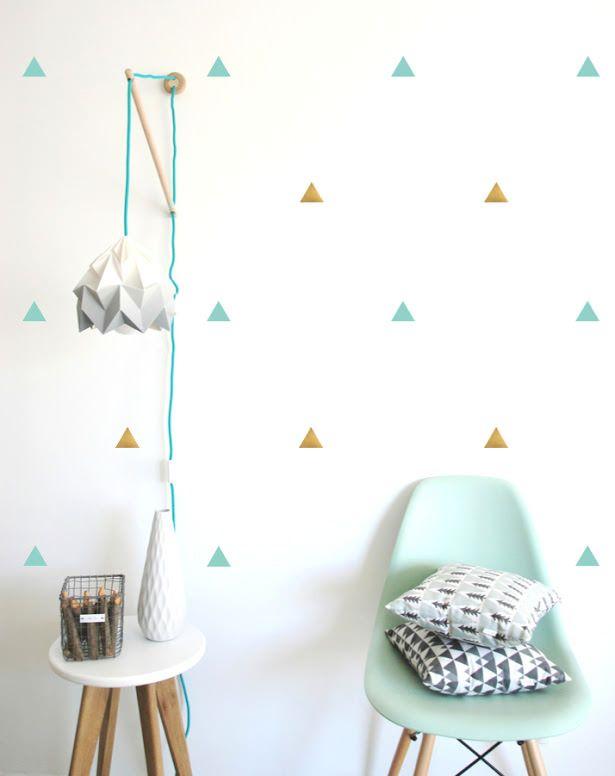 vinilos-triangulos-pequeños