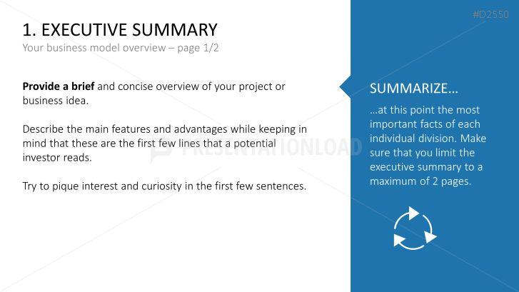 Modèles de plan d'entreprise | PresentationLoad