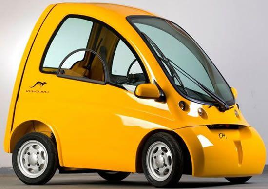 Kenguru – Le voiture électrique fauteuils roulants