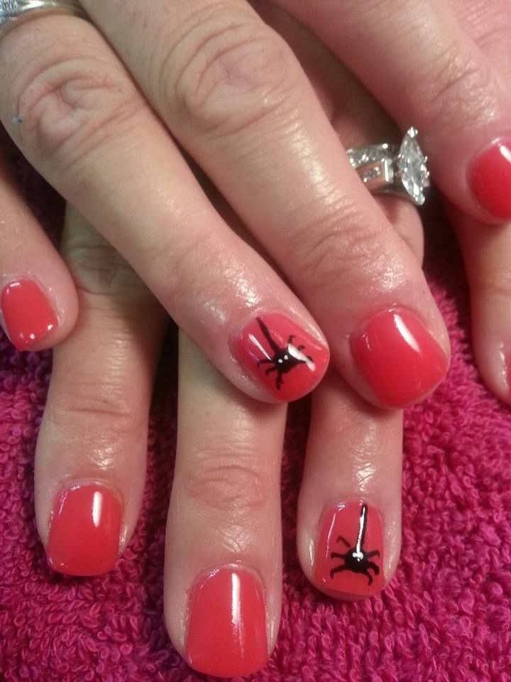 62 Best Shellac Nail Art By Me Images On Pinterest